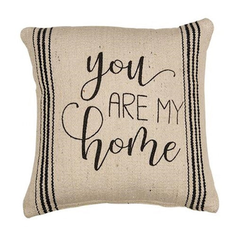 YOU ARE MY HOME FARMHOUSE STYLE ACCENT PILLOW - Avenue of Oaks Decor