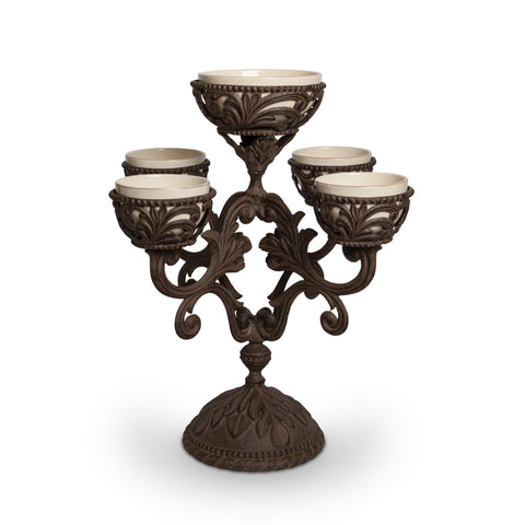 The GG Collection Gracious Goods Epergne - Avenue of Oaks Decor