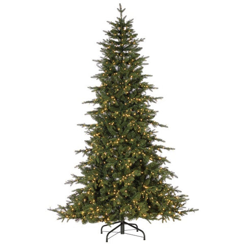Natural Cut Seville Pine, 9 ft. LED Micro Lights - Avenue of Oaks Decor