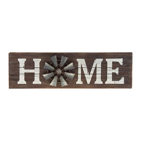 HOME WINDMILL SIGN - Avenue of Oaks Decor
