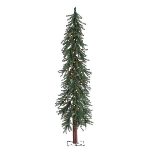 Pre-Lit Alpine Tree 6 ft., 200 UL Clear Lights - Avenue of Oaks Decor