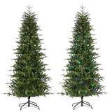 LED Natural Cut Color Changing Santa Fe Pine, 7.5 ft., 250 UL Dual Color Changing LED Lights - Avenue of Oaks Decor