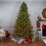 Layered Norfolk Pine, 9 ft., 1400 UL Clear Lights - Avenue of Oaks Decor