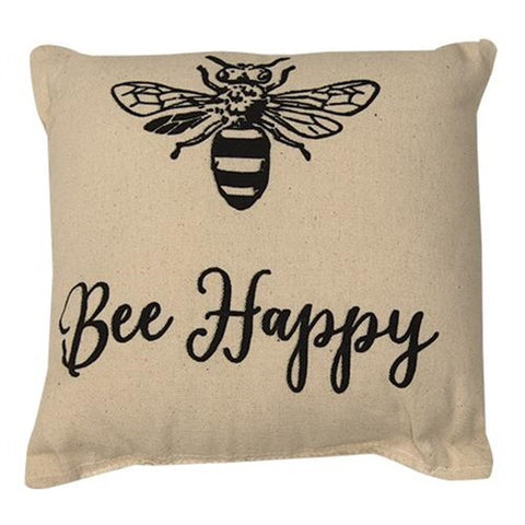 BEE HAPPY ACCENT PILLOW - Avenue of Oaks Decor