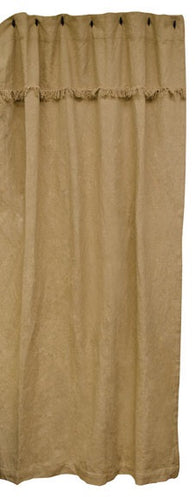 BURLAP FARMHOUSE SHOWER CURTAIN - Avenue of Oaks Decor
