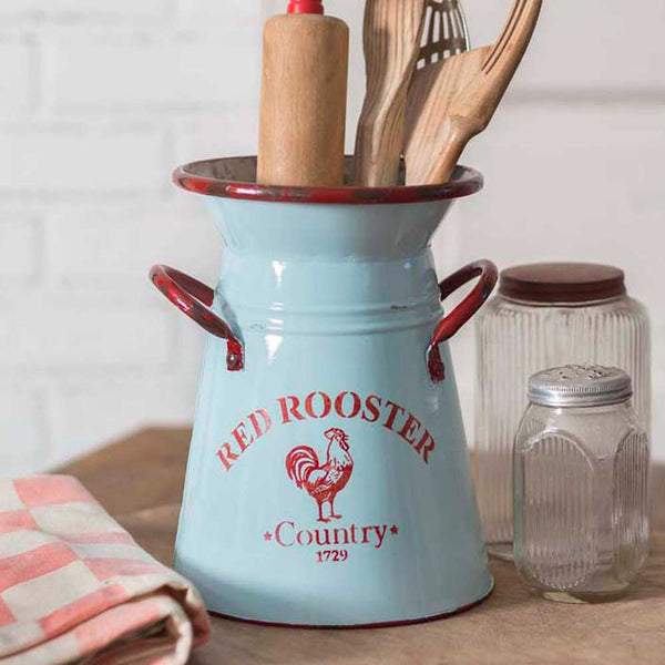 RED ROOSTER KITCHEN FARMHOUSE PITCHER - Avenue of Oaks Decor