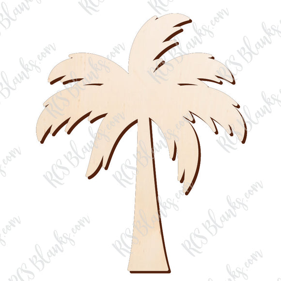 Palmetto Wood Cut-Out