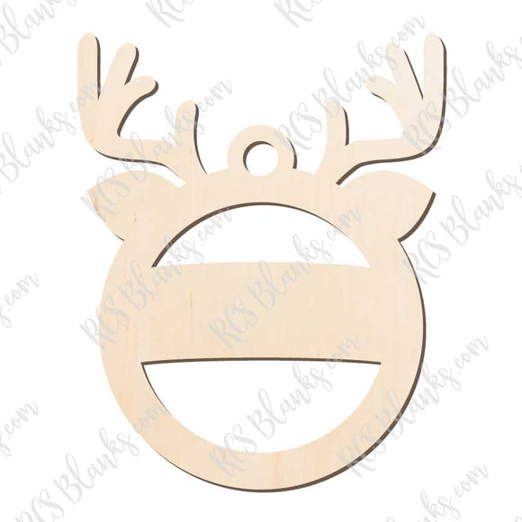 Reindeer Ornament Wood Cut-Out