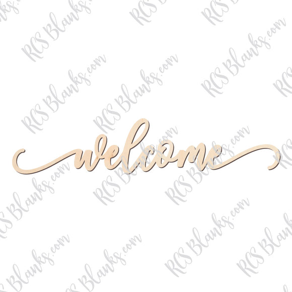 Welcome Place Card Wood Cut-Out