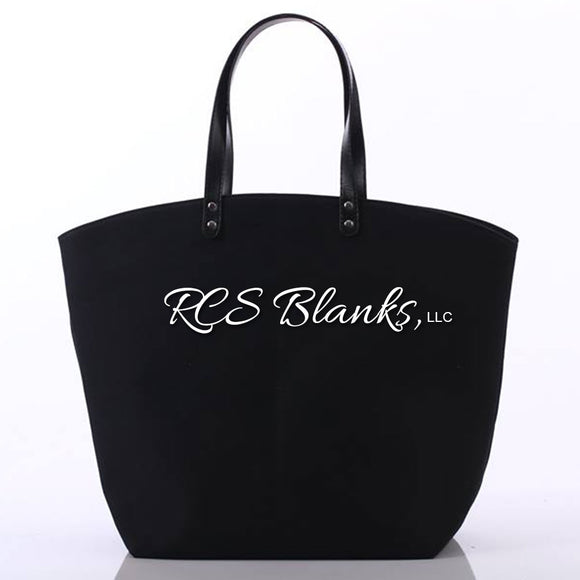 Black Sport Tote Bag