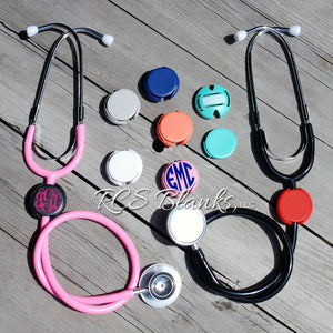 Stethoscope Name Tag ID Covers