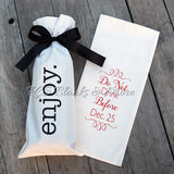 Cotton Wine Bottle Gift Bag