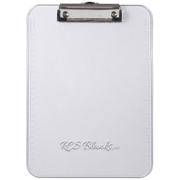 Plastic 9x12 Clipboard w/ Ruler