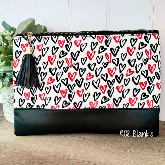 From The Heart Cosmetic Bag