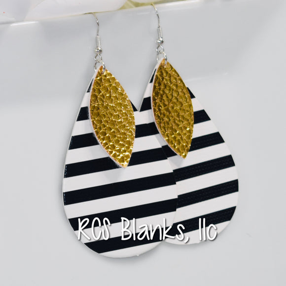 Joanna 2-Layer Drop Earrings