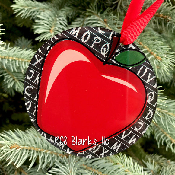 Classroom Appreciation Acrylic Christmas Ornament