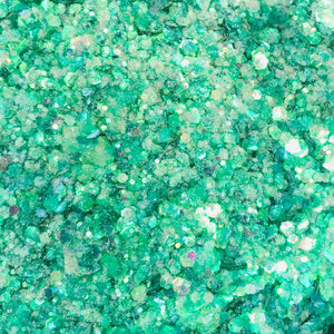 Sea Foam Surprise Iridescent Glitter Mix