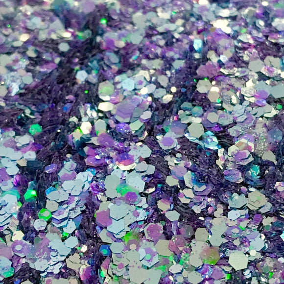 Stormy Seas Iridescent Glitter Mix