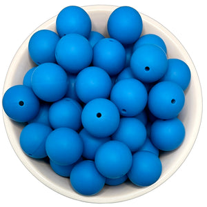 It's A Boy 20mm Silicone Beads - 5 pk.