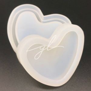 Heart Trinket Box Silicone Mold
