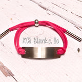Cara Leather Bar Bracelet