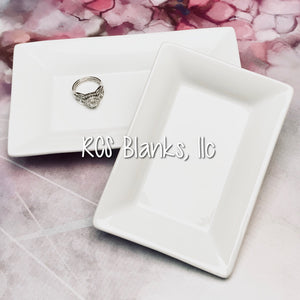 Vanity Ceramic Jewelry Tray