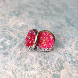 Brooke Druzy Post Style Earrings