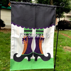 Witch Garden Flag