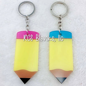 Pencil Acrylic Keychain