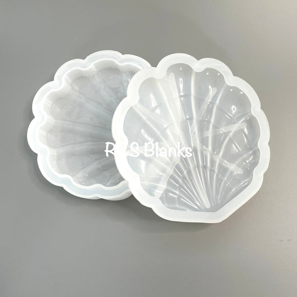 Seashell Jewelry Box Silicone Mold