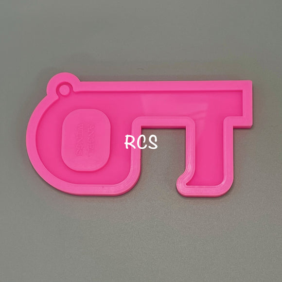 Key-Shaped Touchless Door Opener Silicone Mold