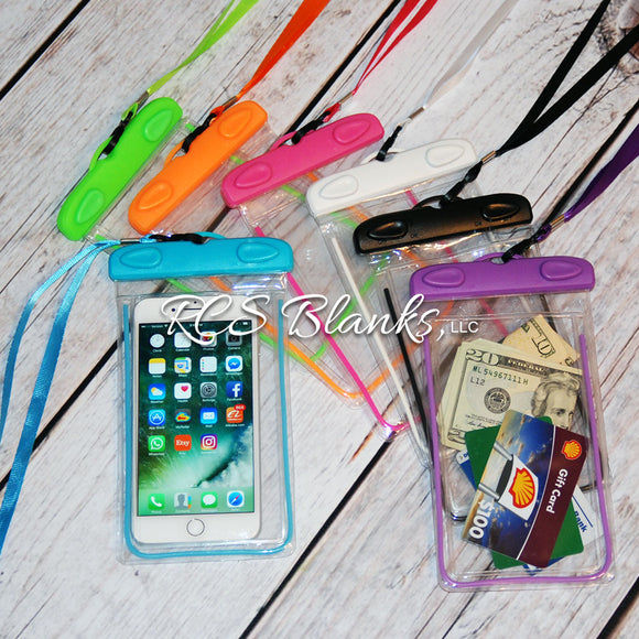 Waterproof Phone Case & Lanyard