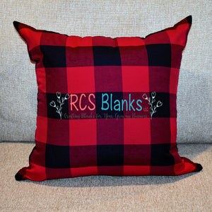 Buffalo Plaid Throw Pillow Cover