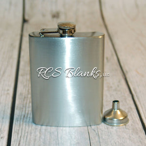 8 Ounce Stainless Steel Hip Flask
