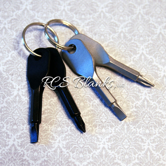 Screwdriver Key Chain Set