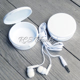 White Earbuds w/ Case