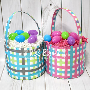 Plaid Easter Basket