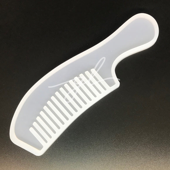 Long Handle Comb Silicone Mold