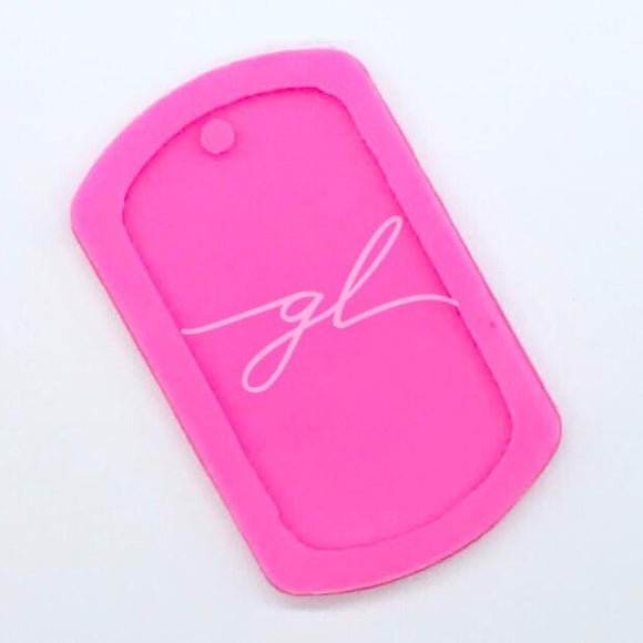 Dog Tag Silicone Mold