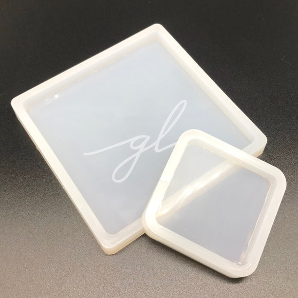 Square Coaster Silicone Mold