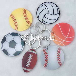 All Sports Acrylic Keychain