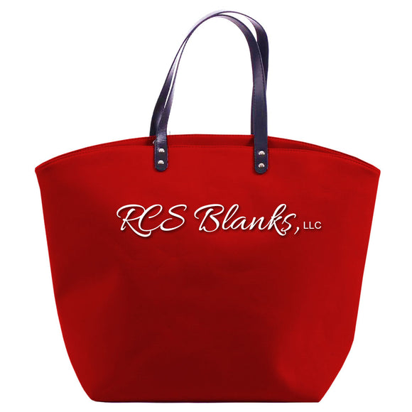 Red Sport Tote Bag