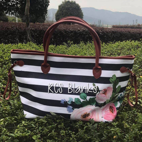 Rosie Striped Tote Bag