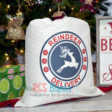 Reindeer Delivery Small Santa Sack