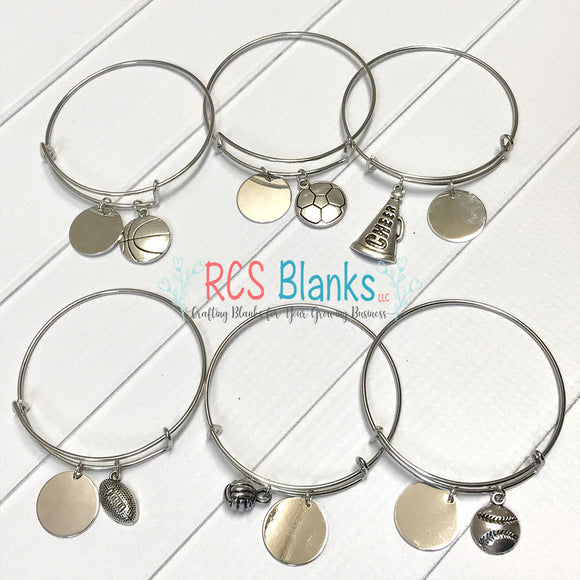 Pick Your Sport Bangle Bracelet