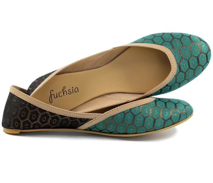 Antalya Green Limited Edition Vegan Flats - Flats