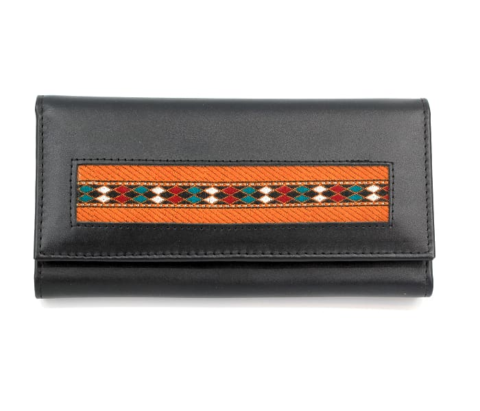Cardinal Embroidered Wallet - Clutches