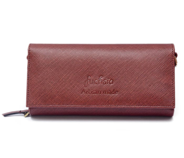 Harley Leather Wallet - Brown - Clutches