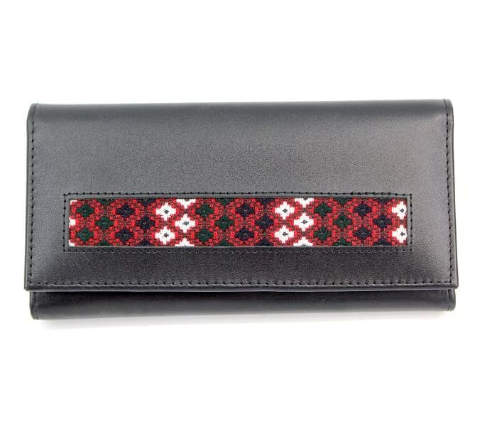 Poppy Embroidered Wallet - Clutches