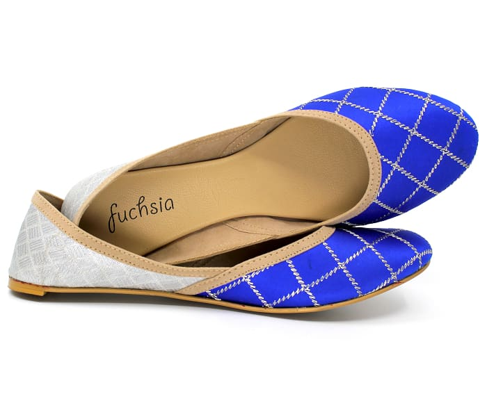 Sera Royal Blue Vegan Flats - Exclusive Offer